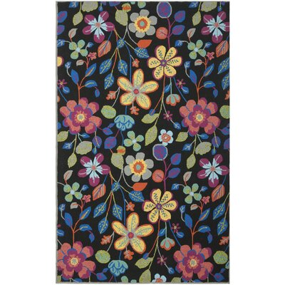 Hayes Floral Outdoor Area Rug Rug Size: Rectangle 36 x 56