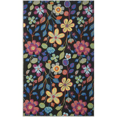 Hayes Floral Outdoor Area Rug Rug Size: Rectangle 5 x 8