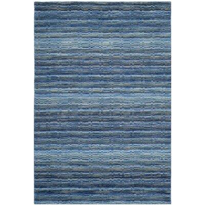 Sherri Blue Area Rug Rug Size: 4 x 6