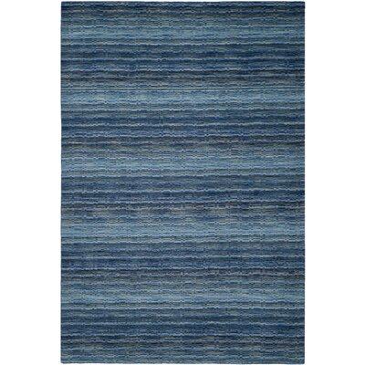 Sherri Blue Area Rug Rug Size: 6 x 9