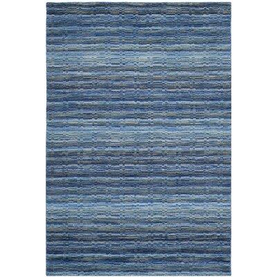 Sherri Blue Area Rug Rug Size: 3 x 5