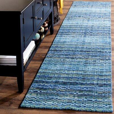 Sherri Blue Area Rug Rug Size: Runner 23 x 12