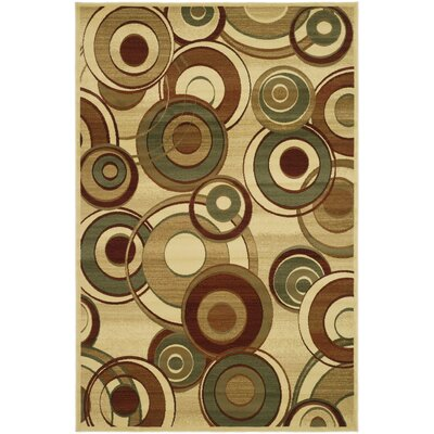 Anne Ivory Area Rug Rug Size: 6 x 9