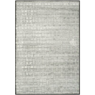 Red Hook Charcoal/Multi Rug Rug Size: 53 x 76