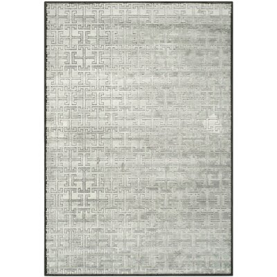 Red Hook Charcoal/Gray Area Rug Rug Size: Rectangle 8 x 112