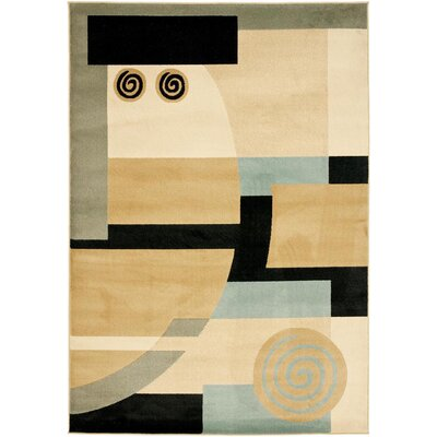 Nanette Tan Area Rug Rug Size: Rectangle 4 x 57