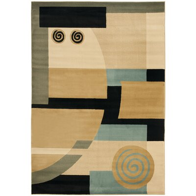 Nanette Tan Area Rug Rug Size: Rectangle 53 x 77