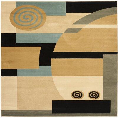 Nanette Tan Area Rug Rug Size: Square 7