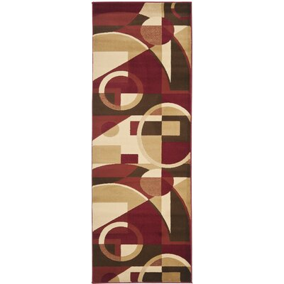Charis Woven Area Rug Rug Size: Runner 24 x 9