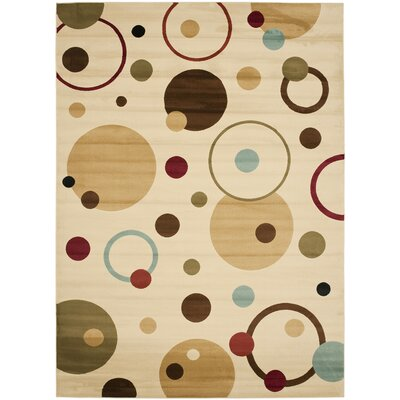 Nanette Area Rug Rug Size: Round 5