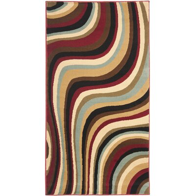 Charis Contemporary Area Rug Rug Size: 53 x 77
