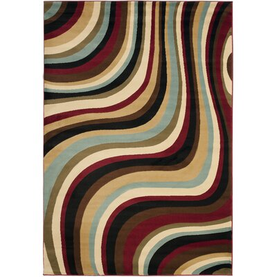 Charis Contemporary Geometric Area Rug Rug Size: Rectangle 67 x 96