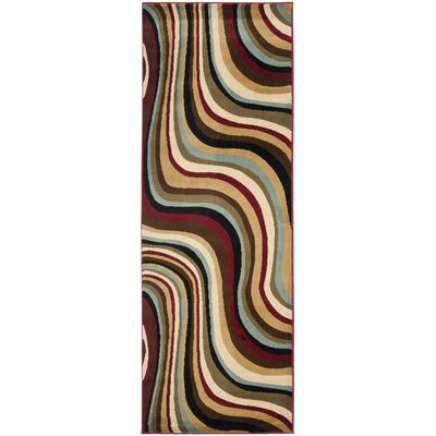 Charis Contemporary Geometric Area Rug Rug Size: Runner 24 x 9