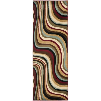 Charis Contemporary Geometric Area Rug Rug Size: Runner 24 x 67