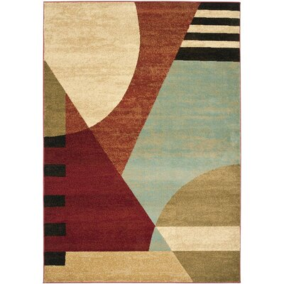 Charis Flower-Petal Area Rug Rug Size: Rectangle 53 x 77