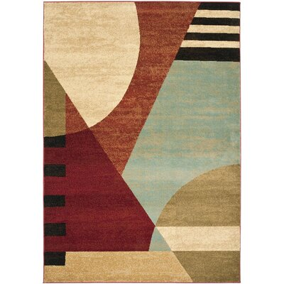 Charis Flower-Petal Area Rug Rug Size: 67 x 96