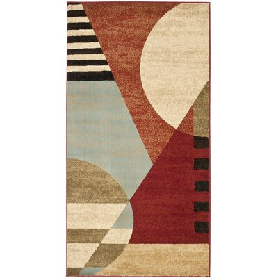 Charis Flower-Petal Area Rug Rug Size: Rectangle 27 x 5