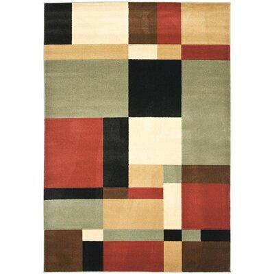 Charis Geometric Woven Area Rug Rug Size: 67 x 96