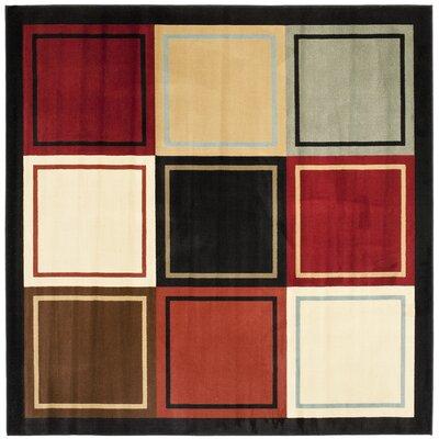 Nanette Area Rug Rug Size: Square 7