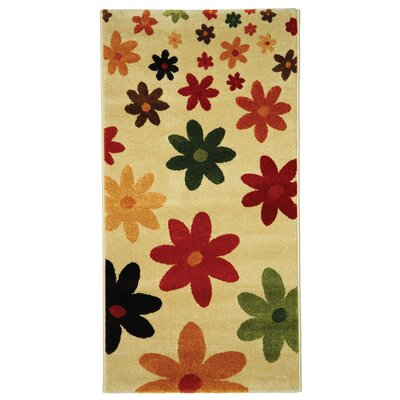 Nanette Beige Area Rug Rug Size: Rectangle 2 x 37