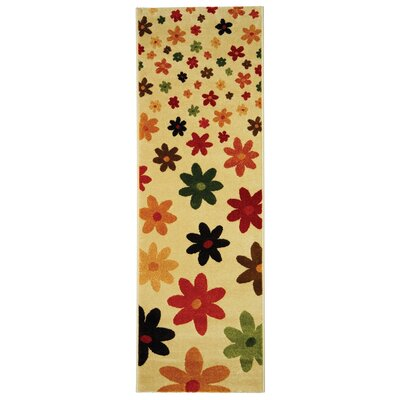 Nanette Beige Area Rug Rug Size: Rectangle 27 x 5