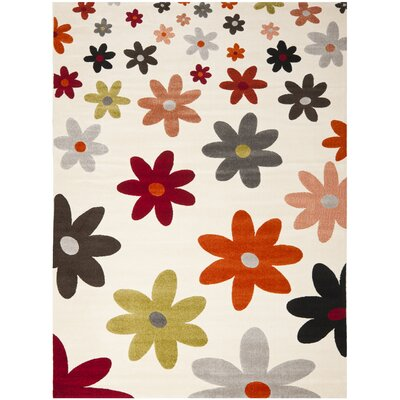 Charis Ivory Area Rug Rug Size: Rectangle 8 x 112