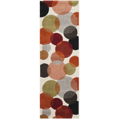 Nanette Ivory Area Rug Rug Size: Rectangle 27 x 5