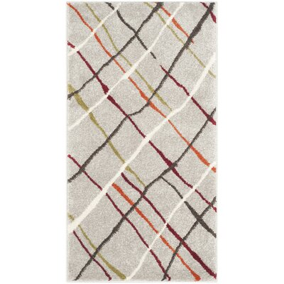 Nanette Gray Area Rug Rug Size: Rectangle 2 x 37