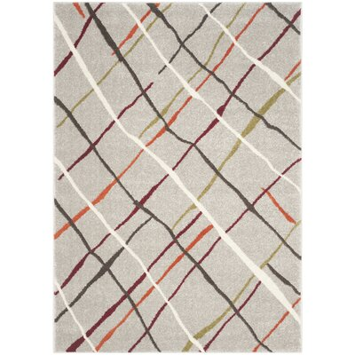 Nanette Grey / Multi Contemporary Rug Rug Size: Runner 27 x 5