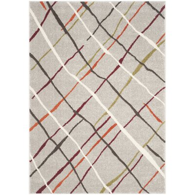 Nanette Gray Area Rug Rug Size: Rectangle 4 x 57