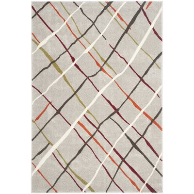 Nanette Gray Area Rug Rug Size: Rectangle 53 x 77