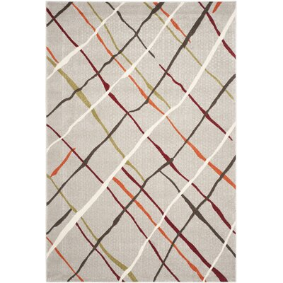 Nanette Grey / Multi Contemporary Rug Rug Size: 67 x 96
