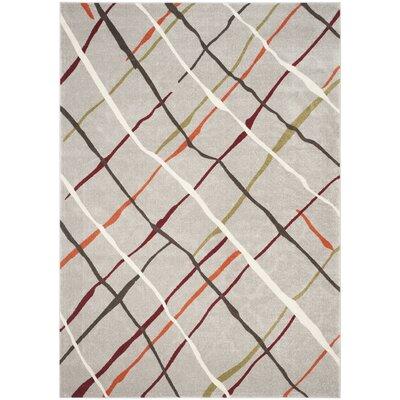 Nanette Gray Area Rug Rug Size: Rectangle 8 x 112