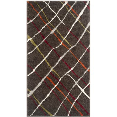 Nanette Brown / Multi Contemporary Rug Rug Size: 2 x 37