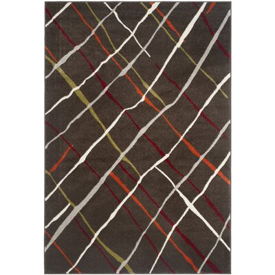 Nanette Brown / Multi Contemporary Rug Rug Size: 4 x 57