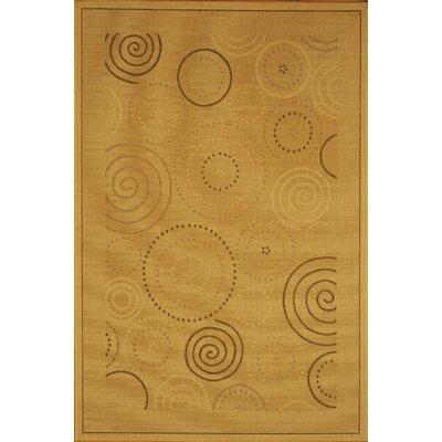 Jada Circles Outdoor Rug Rug Size: 2 x 37
