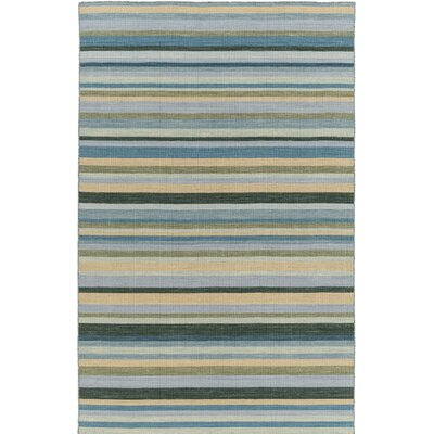 Dixon Hand-Woven Green Area Rug Rug Size: Runner 26 x 8