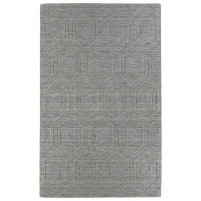 Dobson Steel Geometric Area Rug Rug Size: Rectangle 5 x 8