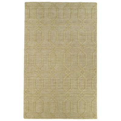 Dobson Yellow GeometricArea Rug Rug Size: Rectangle 36 x 56