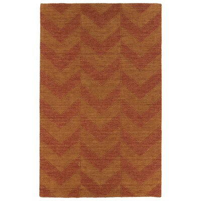 Dobson Paprika Geometric Area Rug Rug Size: Rectangle 36 x 56