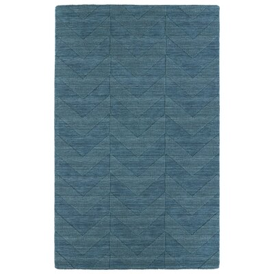 Dobson Turquoise Geometric Area Rug Rug Size: Rectangle 3'6