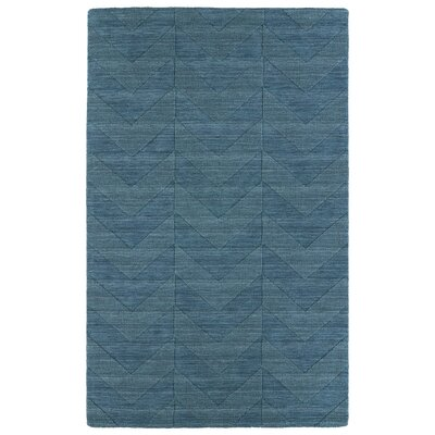 Dobson Turquoise Geometric Area Rug Rug Size: 36 x 56