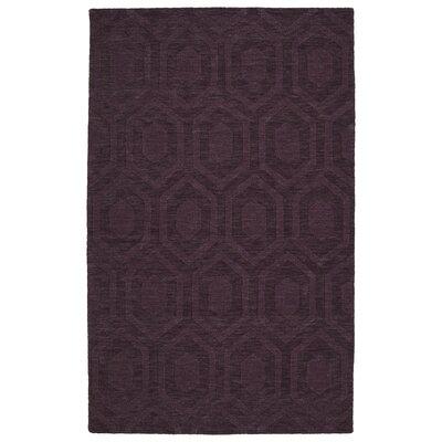 Dobson Handmade Purple Area Rug Rug Size: 2 x 3
