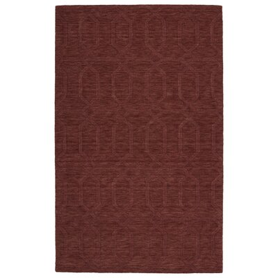 Dobson Handmade Cinnamon Area Rug Rug Size: Rectangle 5 x 8
