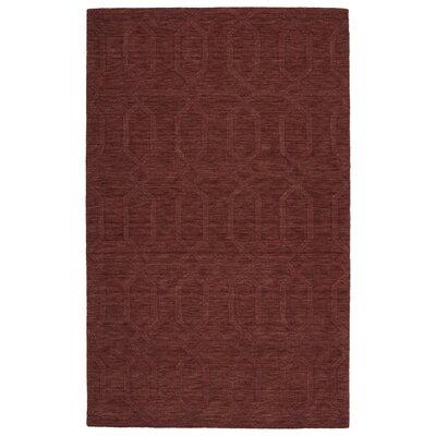 Dobson Handmade Cinnamon Area Rug Rug Size: 5 x 8