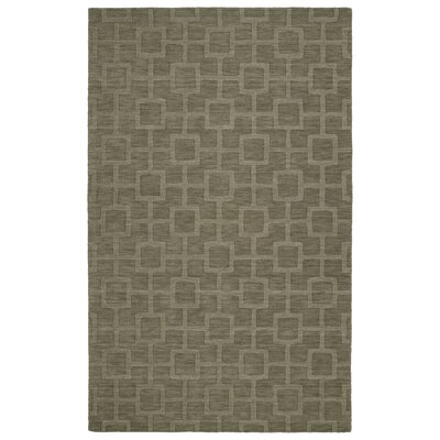 Dobson Handmade Taupe Area Rug Rug Size: Rectangle 5 x 8
