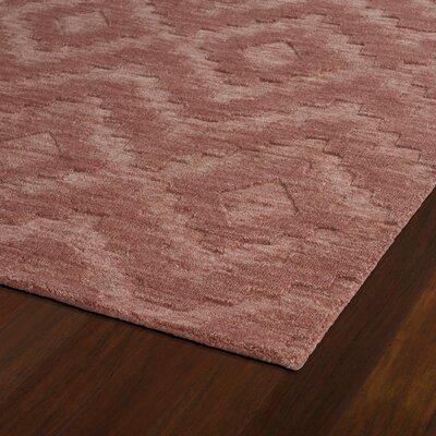 Dobson Handmade Rose Area Rug Rug Size: Runner 26 x 8