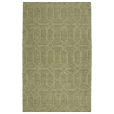 Dobson Handmade Sage Area Rug Rug Size: Rectangle 36 x 56