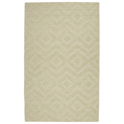 Dobson Handmade Sand Area Rug Rug Size: Rectangle 36 x 56
