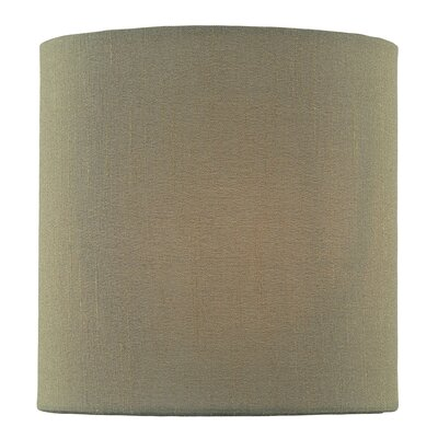 5 Fabric Drum Candelabra Shade Color: Dark Green